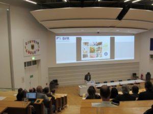 Foto eines Vortrags auf den 26. WaBoLu-Innenraumtagen 2019 in Berlin