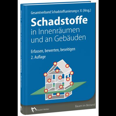 Cover des Buches Schadstoffe in Innenräumen und an Gebäuden, 2. Auflage