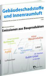 Cover der Schriftenreihe Gebäudeschadstoffe und Innenraumluft, Band 2 Emissionen aus Bauprodukten