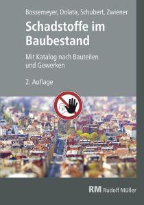 Cover des Buches Schadstoffe im Baubestand