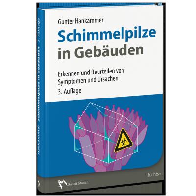 Cover des Buches Schimmelpilze in Gebäuden, 3. Auflage