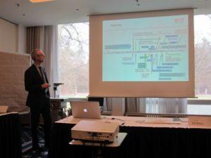 """Foto eines Vortrags auf dem VDI-Wissensforum """"Schadstoffe in Innenräumen"""" 2019 in Frankfurt am Main"""