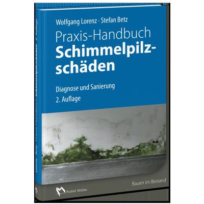Cover des Praxis-Handbuch Schimmelpilzschäden